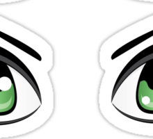 Colorful Male Eyes 7 Sticker