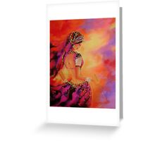 Swirl-3 Greeting Card