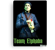 Team Elphaba - Wicked  Canvas Print