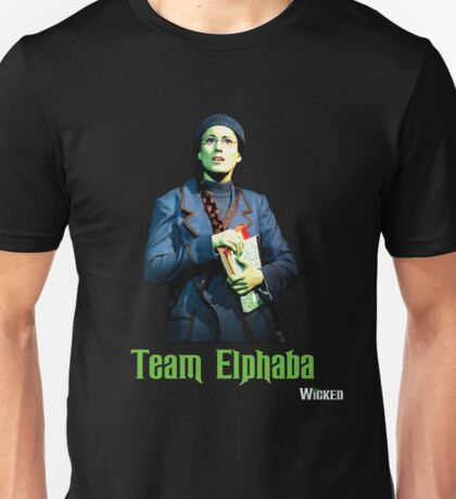 Team Elphaba - Wicked  Unisex T-Shirt