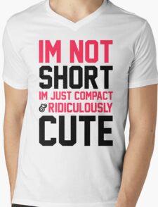 I'm Not Short Mens V-Neck T-Shirt