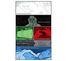 Murder Palette Collaboration Photographic Print