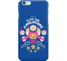 Time for Adventure Toadette iPhone Case/Skin