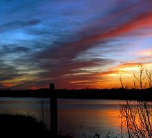 Louisiana Coastal Sunset  by KSkinner