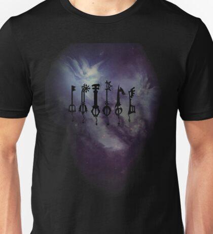 reverse keys to the universe Unisex T-Shirt