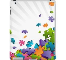 Light Puzzle Pieces iPad Case/Skin