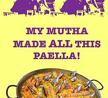 George Costanza- My Mutha Made All This Paella! by vinson80