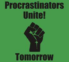 Procrastinators Unite Kids Clothes