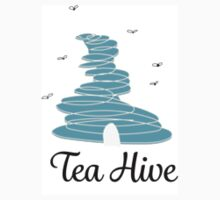 Blue Tea Hive Kids Tee