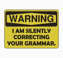 Warning Grammar T-Shirt