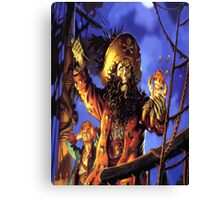 Curse of monkey island Canvas Print