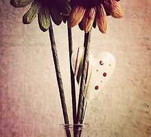 _ flower and heart _ by Louise LeGresley