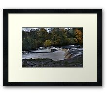 Autumn Falls HDR Framed Print