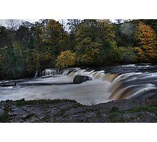 Autumn Falls HDR Photographic Print
