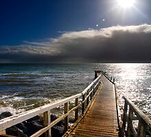 Frankston Jetty by Alex Stojan