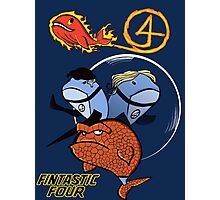 The Fintastic Four! Photographic Print