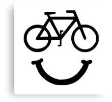 Bike Smile Canvas Print