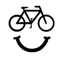 Bike Smile Photographic Print