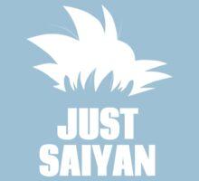 Super Saiyan, Just Saiyan t-shirt Kids Clothes