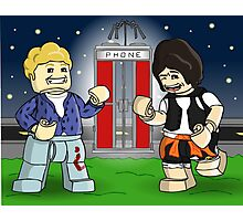 LEGO Bill & Ted Photographic Print