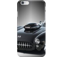1957 Corvette 'Competition Style' iPhone Case/Skin