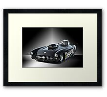 1957 Corvette 'Competition Style' Framed Print
