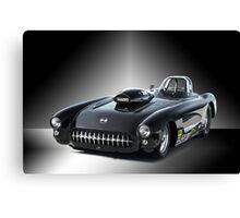 1957 Corvette 'Competition Style' Canvas Print