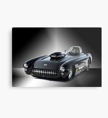 1957 Corvette 'Competition Style' Metal Print