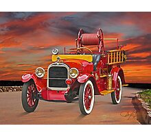 1927 Dodge Bros Fire Truck Photographic Print