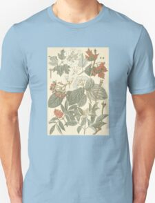 Red and White Foliage T-Shirt