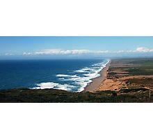Sea and Land Photographic Print
