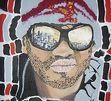 Hancock pattern painting by masonpan