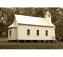 Missionary Baptist Church Photographic Print