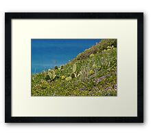 Sand Dune Beauty Framed Print
