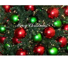 Jingle Balls! Photographic Print