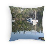 Barnes Bay, Bruny Island, Tasmania Throw Pillow