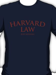 Harvard Law T-Shirt