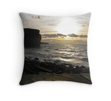 Bell Isle Butte Throw Pillow