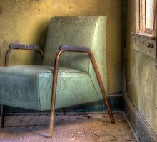 A Green Chair and A Yellow Wall by Kyle Wilson