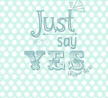 Zoella 'Just Say Yes' Phone Case by Emrosemay99