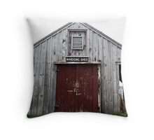 Rigging Shed Throw Pillow