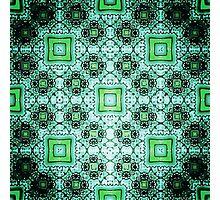 mint pattern Photographic Print
