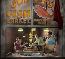 Store - Fish NY - Jaffe's Fish Market by Mike  Savad