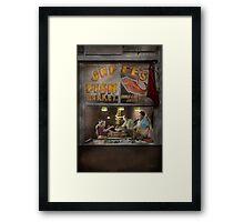 Store - Fish NY - Jaffe's Fish Market Framed Print