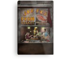 Store - Fish NY - Jaffe's Fish Market Metal Print
