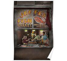 Store - Fish NY - Jaffe's Fish Market Poster