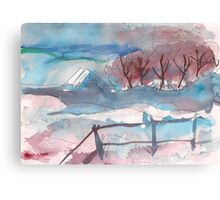 WINTER AFTERNOON(C2011) Canvas Print