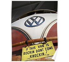 IF THE VAN IS A ROCKIN... Poster