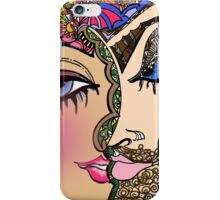 Double E Abstract Illustration iPhone Case/Skin