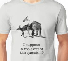 Kangaroos having fun Unisex T-Shirt